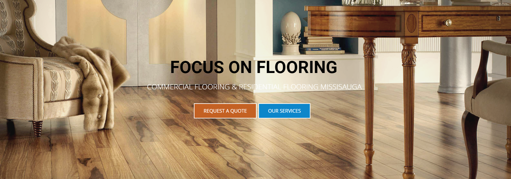 Hardwood Flooring installation – Focus on Flooring